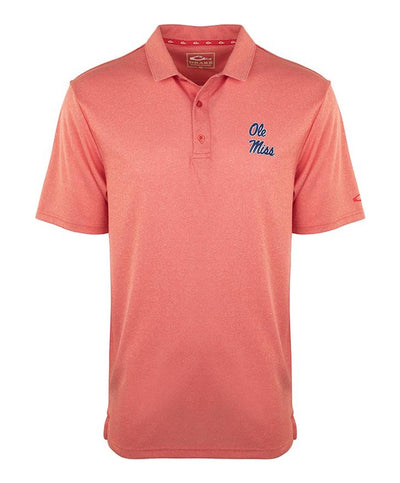 Drake - Ole Miss Vintage Heather Polo