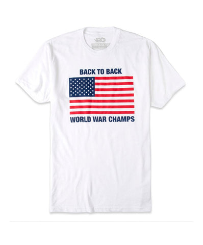 Rowdy Gentleman - Back to Back World War Champs Vintage Tee