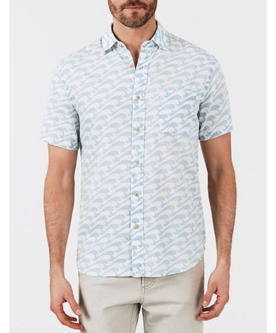 Faherty - Coast S/S Shirt - Epic Peaks