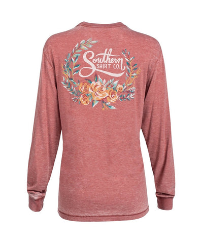 Southern Shirt Co - Forest Florals Long Sleeve