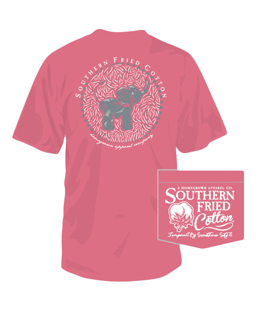Southern Fried Cotton - Baby Elephant Tee