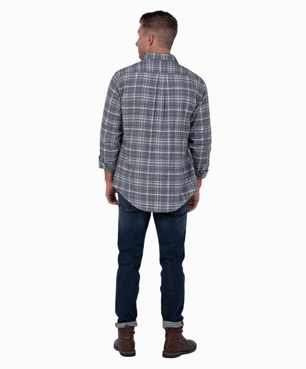 Southern Shirt Co - Keystone Heather Flannel Long Sleeve Shirt