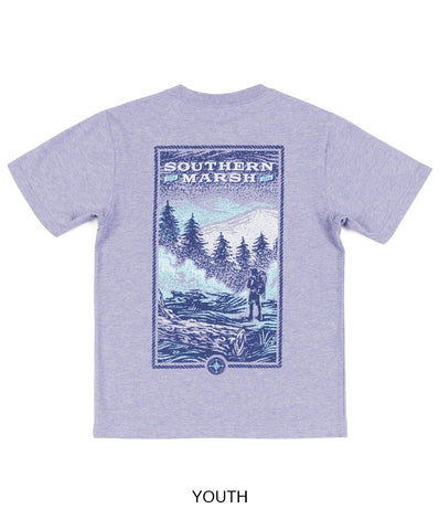 Southern Marsh - Youth Relax & Explore - Trail Short Sleeve Tee