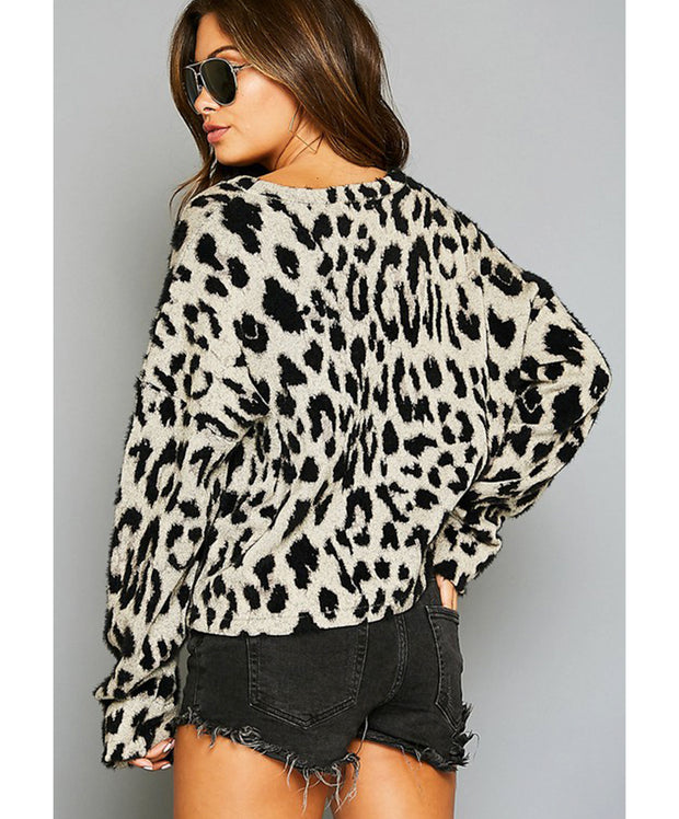 Catch Me If You Can Leopard Top