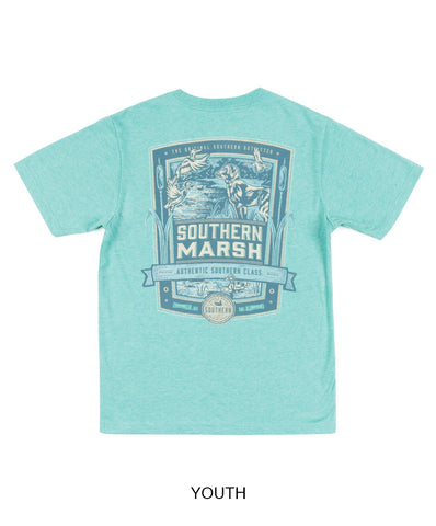 Southern Marsh - Youth Genuine - Duck Hunting Short Sleeve Tee
