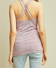 Entro - Ribbed Strappy Top