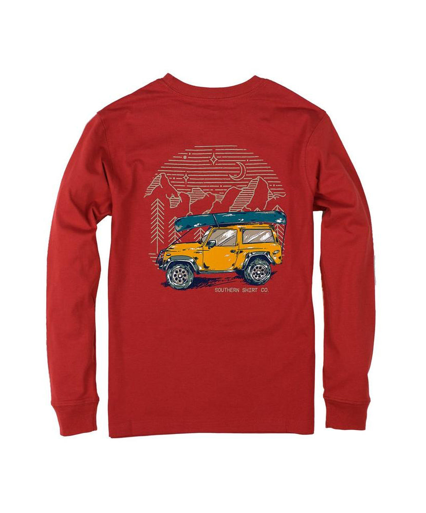 Southern Shirt Co. - Youth Road Less Traveled Long Sleeve Tee