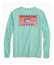 Southern Tide - Original Skipjack Red Snapper Long Sleeve Performance Tee