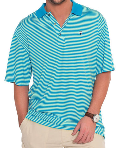 Southern Shirt Co - Charleston Stripe Polo