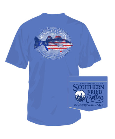 Southern Fried Cotton - American Bass Pocket Tee