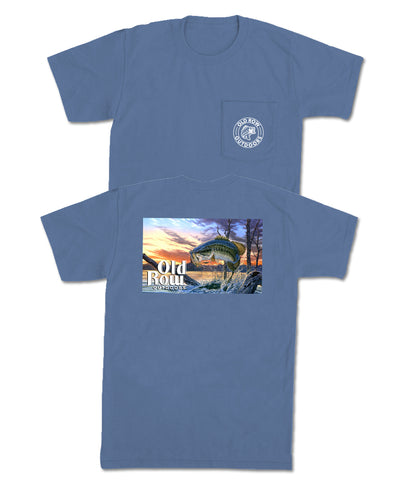 Old Row - Outdoors Bass Pocket Tee