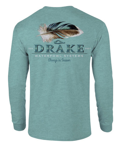 Drake - Duck Feather Long Sleeve Tee