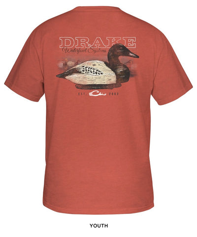 Drake - Youth Canvasback Wood Decoy Tee