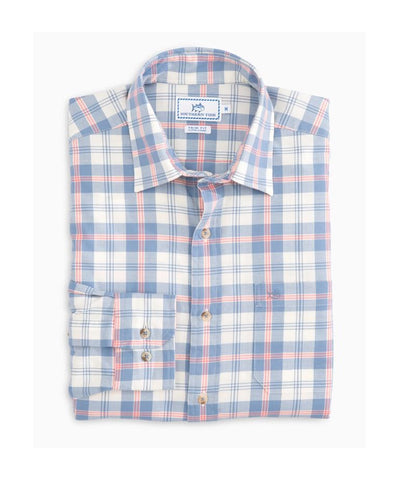 Southern Tide - Oak Harbor Plaid Sportshirt Trim