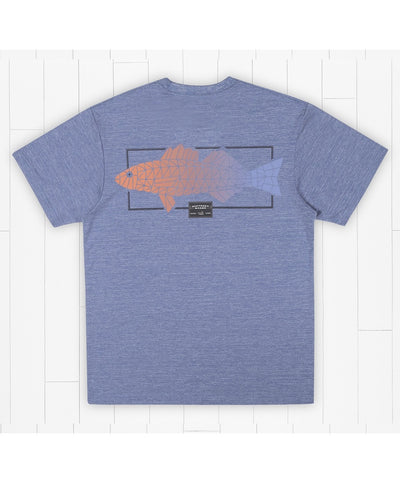 Southern Marsh - FieldTec Heathered Tee - Gradient Scales