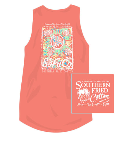 Southern Fried Cotton - Beach Party Tank