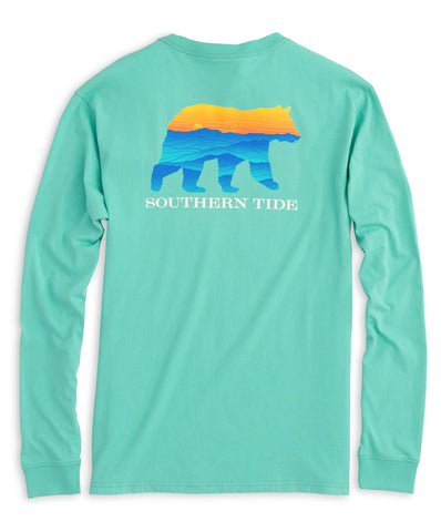 Southern Tide - Youth Blue Ridge Bear Long Sleeve Tee