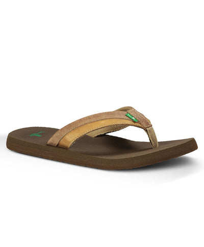 Sanuk - Beer Cozy Primo Light - Brown/Tan