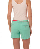 "Southern Tide - Ladies Chino Shorts 5"" - Bermuda Teal"