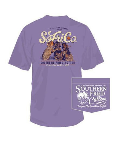 Southern Fried Cotton - Best Friends Pocket Tee