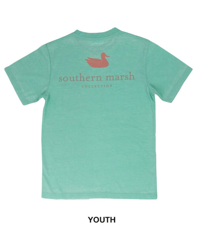 Southern Marsh - Youth Seawash Tee - Authentic