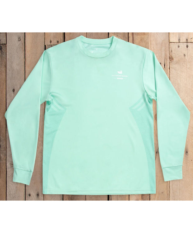 Southern Marsh - FIELDTEC Performance - Gulf Stream - Long Sleeve Tee