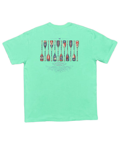 Southern Marsh - River Route Collection - Paddles Tee