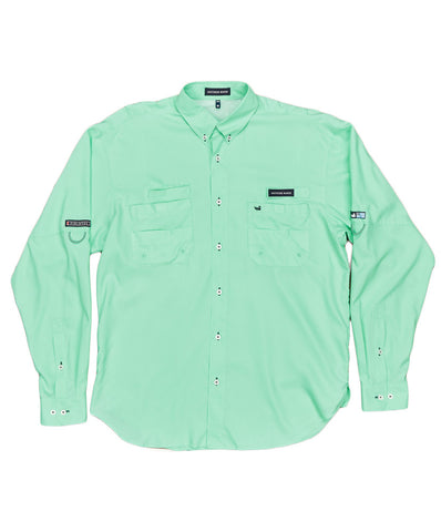 Southern Marsh - Harbor Cay Fishing Long Sleeve Shirt