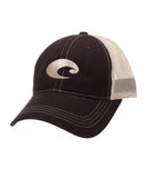 Costa - Mesh Hat - Black Stone
