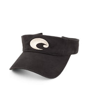 Costa - Cotton Visor - Black