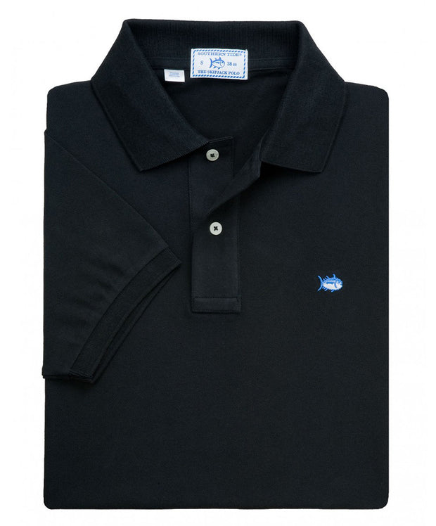 Southern Tide - Classic Skipjack Polo - Black