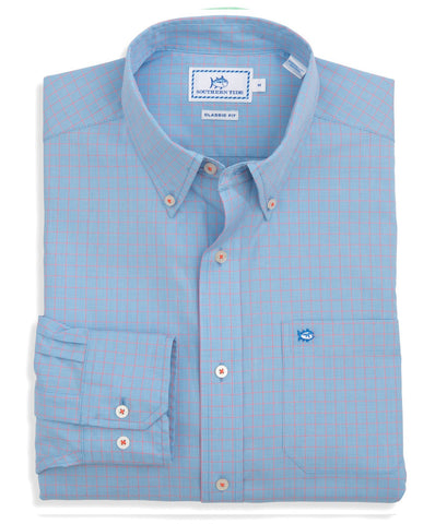 Southern Tide - South of Broad Plaid Sport Shirt