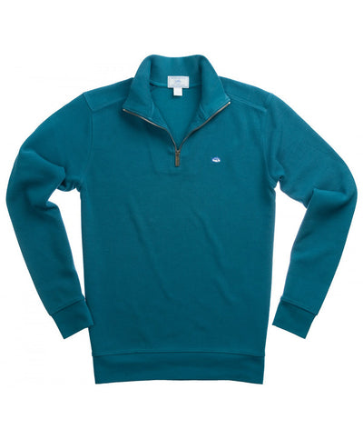 Southern Tide - Solid Ribbed 1/4 Zip Pullover