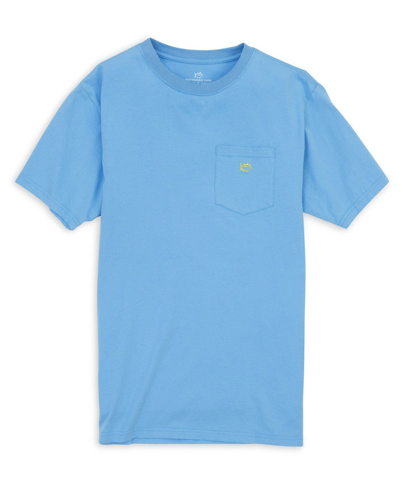 Southern Tide - Outlined Embroidered Pocket Tee