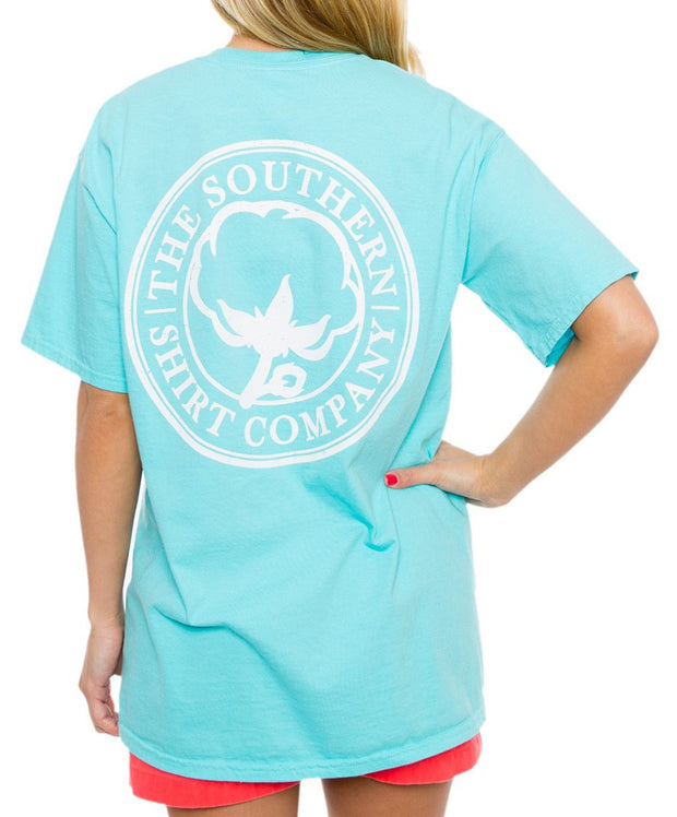 Southern Shirt Co. - Seaside Logo Tee - Blue Radiance