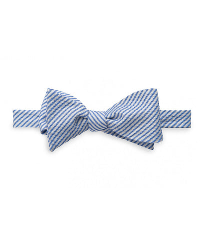 Southern Tide - Seersucker Bow Tie - Ocean Channel
