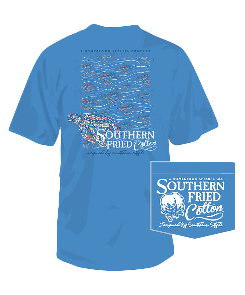 Southern Fried Cotton - Turtle Current Tee