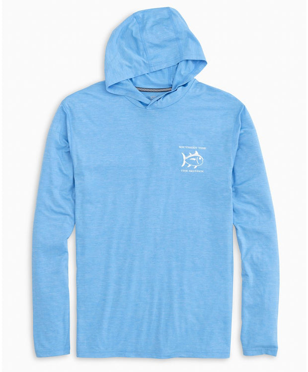 Southern Tide - Coastal Living Performance Hoodie Tee