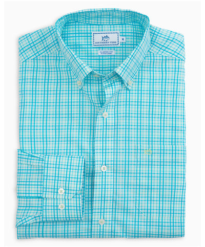 Southern Tide - Pinneys Beach Plaid Sportshirt