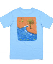 Southern Tide - Tide to Trail T-Shirt - Ocean Channel