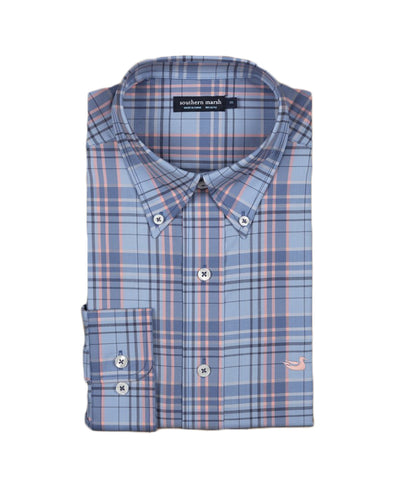 Southern Marsh - Louisville Performance Windowpane Shirt