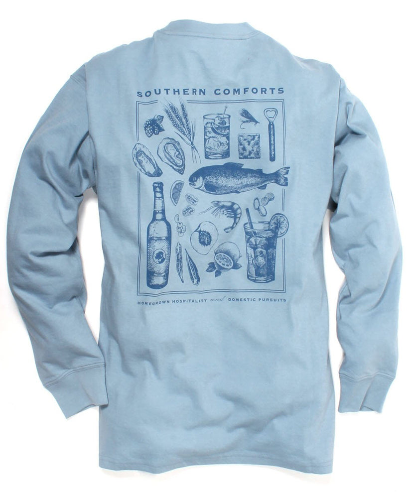 Southern Proper - Southern Comforts Long Sleeve Tee