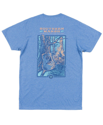 Southern Marsh - Relax & Explore - Guitar Short Sleeve Tee