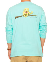 Southern Shirt Co. - Retriever Long Sleeve - Ocean Blue