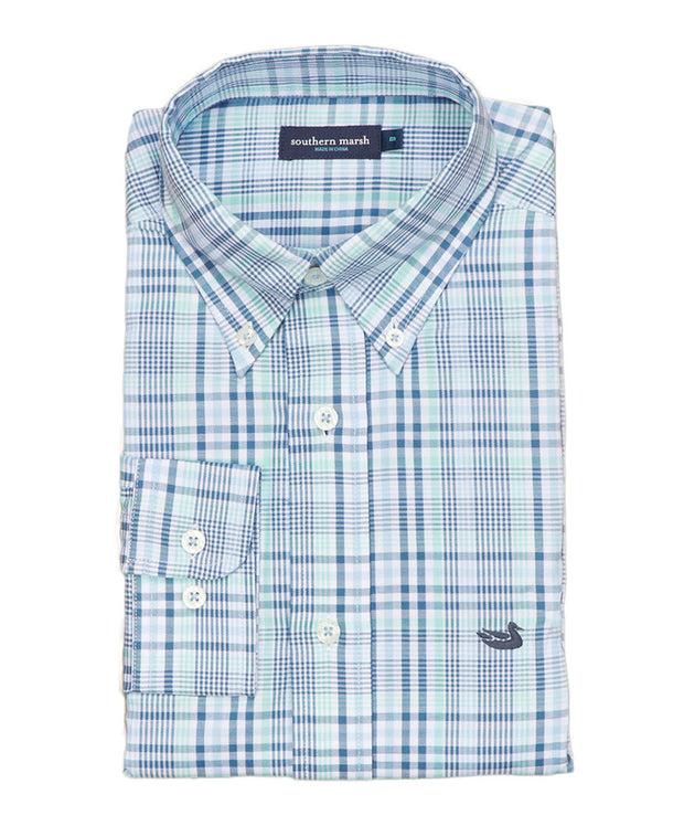 Southern Marsh - Tillman Windowpane Shirt