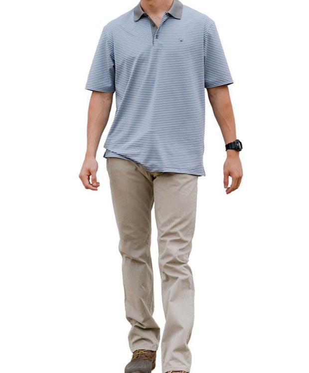 Southern Shirt Co - Caldwell Stripe Polo