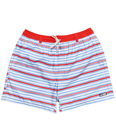 Southern Marsh - Dockside Stripe Swim Trunk