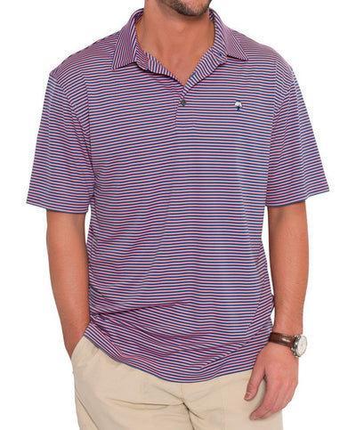 Southern Shirt Co - Shearwater Stripe Polo