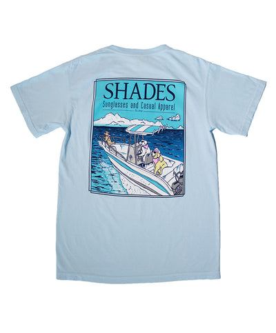 Shades - Dogs On The Boat Tee