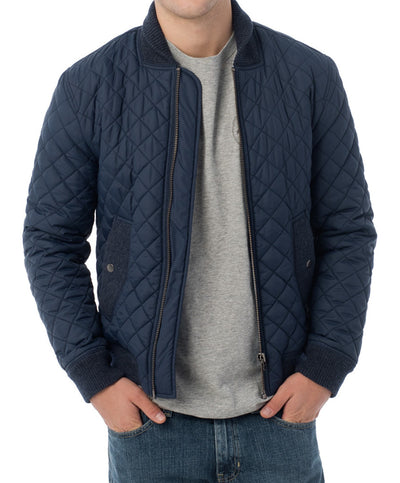 Southern Tide - Quilted Bomber Jacket